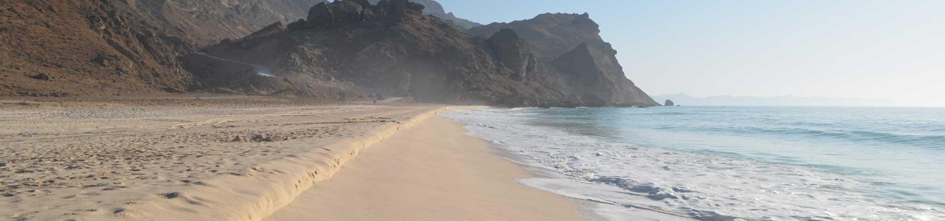 Oman Küste des Dhofar nahe Salalah