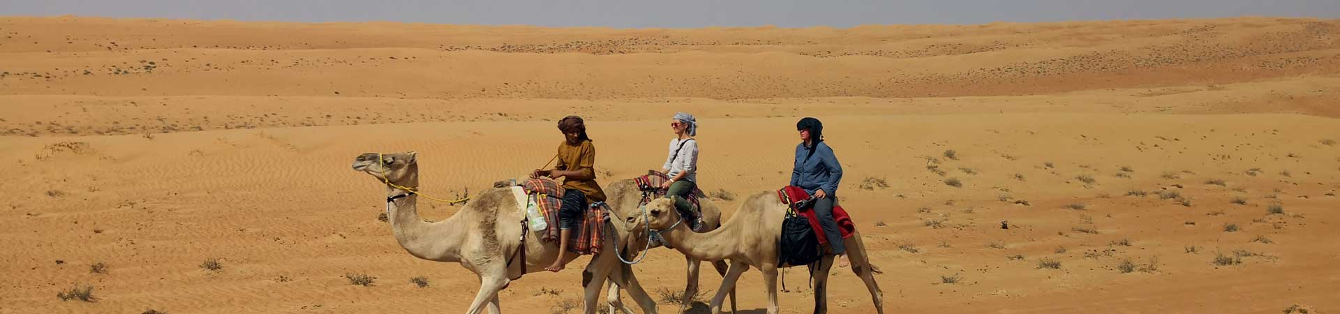 Oman Kameltrekking Ramlat al-Wahiba