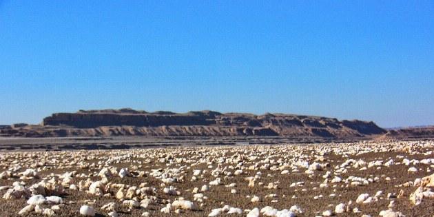 Außergewöhnliche Felsformationen begegnen uns immer wieder auf unserer Reise