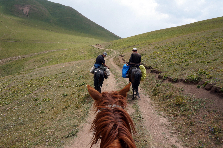 Unterwegs in den Weiten Kirgistans