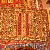 Im jeden Bazar finden Sie eine Vielzahl an prachtvollen Teppichen