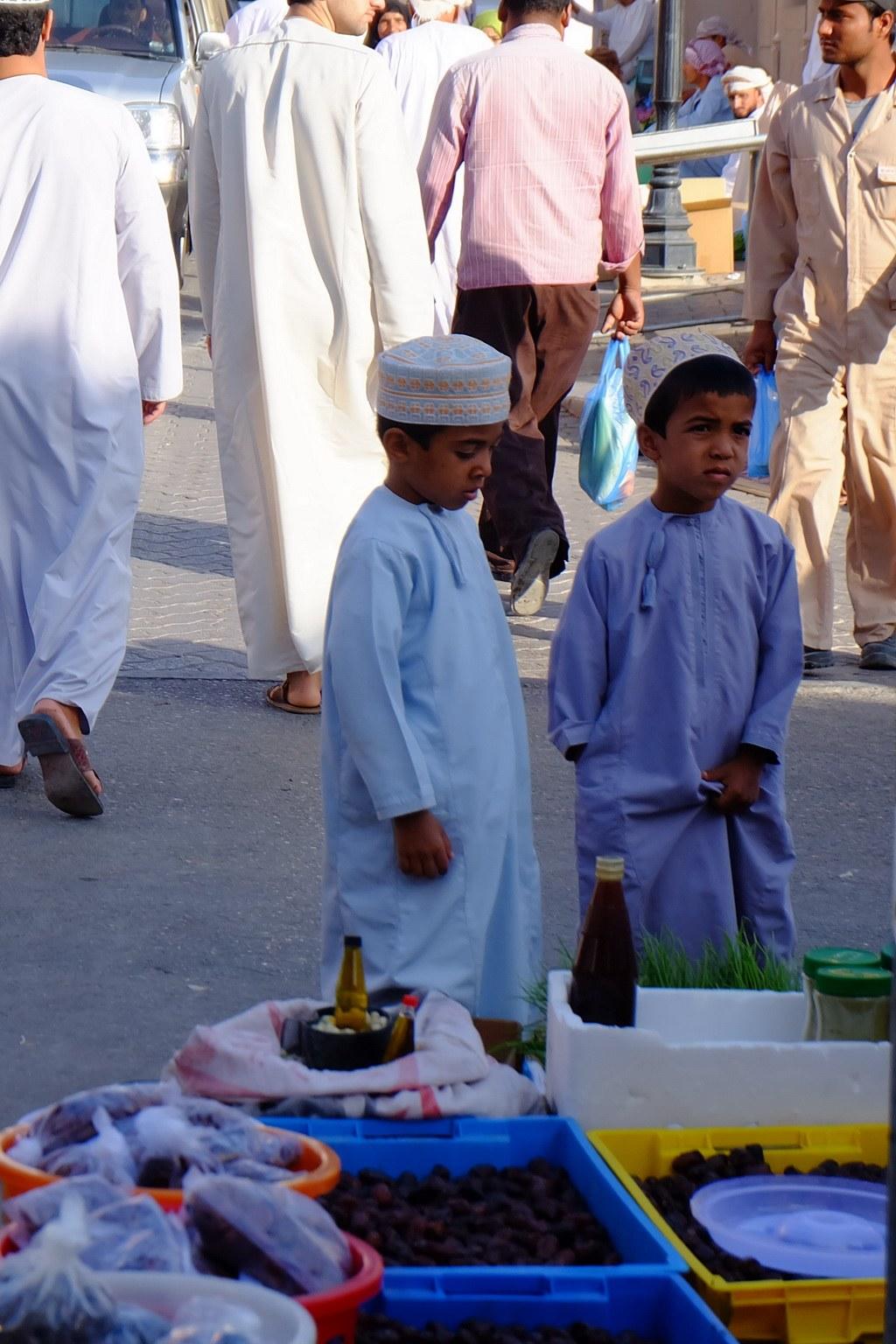 In Oman gelten Kinder als großes Geschenk.