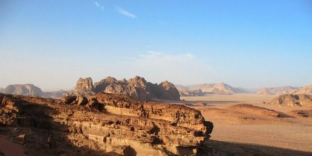 Ein bezauberndes Naturschauspiel im Wadi Rum.