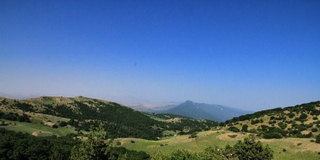 Eine atemberaubende Aussicht über die weitestgehend unberührte Natur