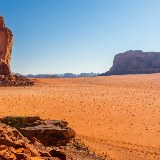 Silvester in der Stille der Wüste