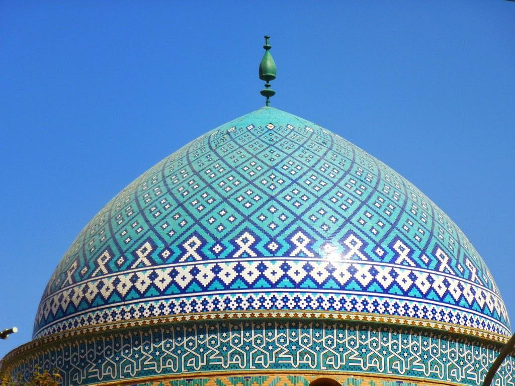 Blaue Kuppel in Yazd