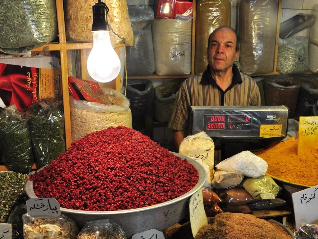 Im Bazar findet man alles, was das Herz begehrt