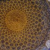 Kuppel in der Sheikh Lotfolla Moschee