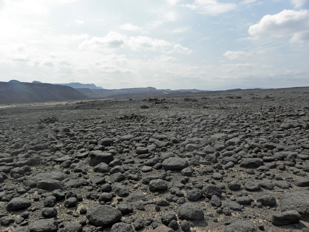 Danakilsenke in Äthiopien