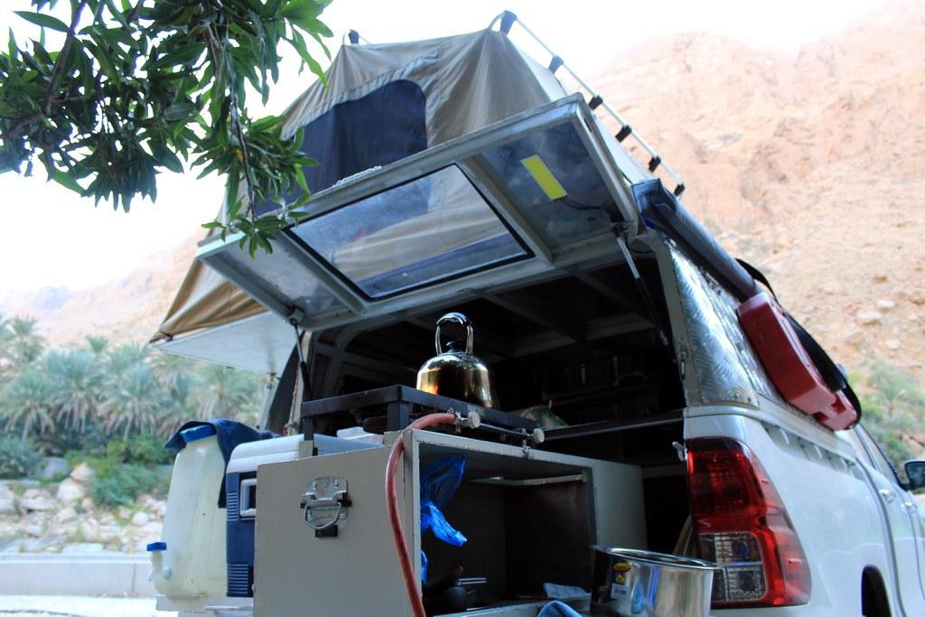 Ihr Auto ist nicht nur Schlafplatz, sondern auch die Küche während Ihrer Reise.