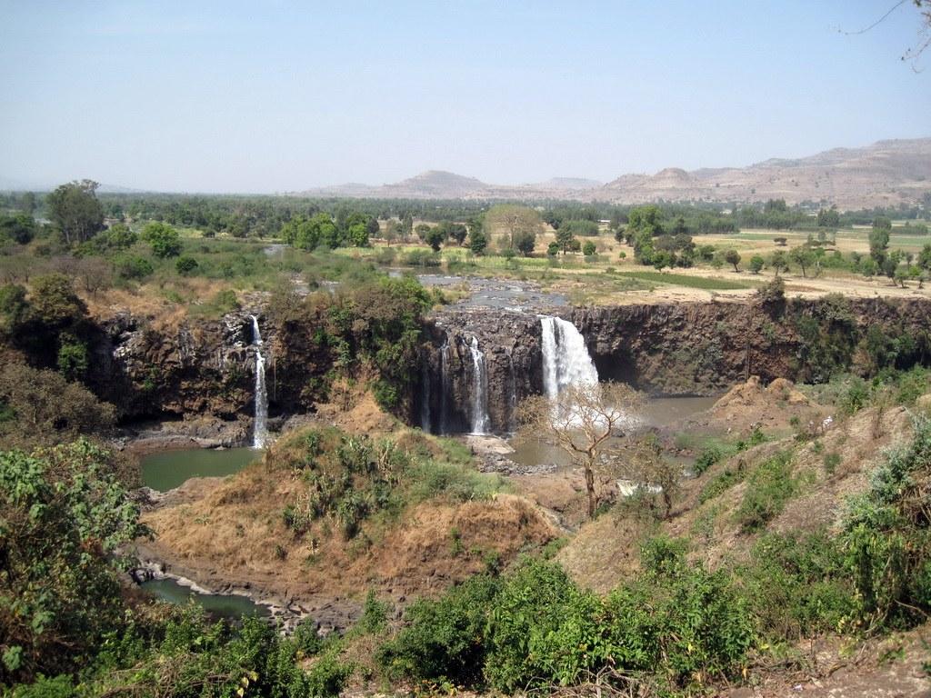 Tisissat-Wasserfälle am blauen Nil