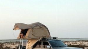 Für Ihr Dachzelt brauchen Sie nur einen kleinen Platz, der Ihnen einen großartigen Ausblick beschert.