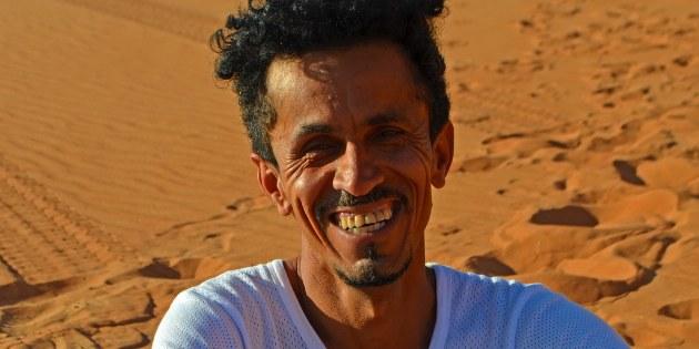 Unser Experte vor Ort. Ibrahim al-Balushi
