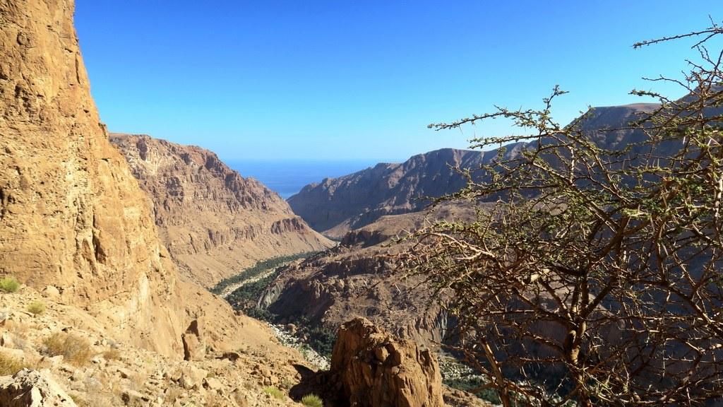 Auf der Fahrt durch die Berge ergeben sich immer wieder tolle Ausblicke