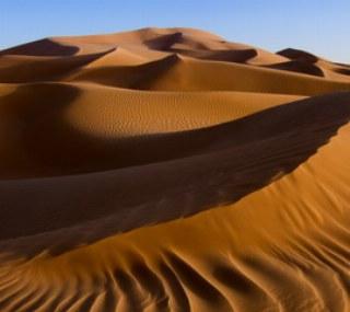 Die Wüste lebt durch die ständige Veränderungen.