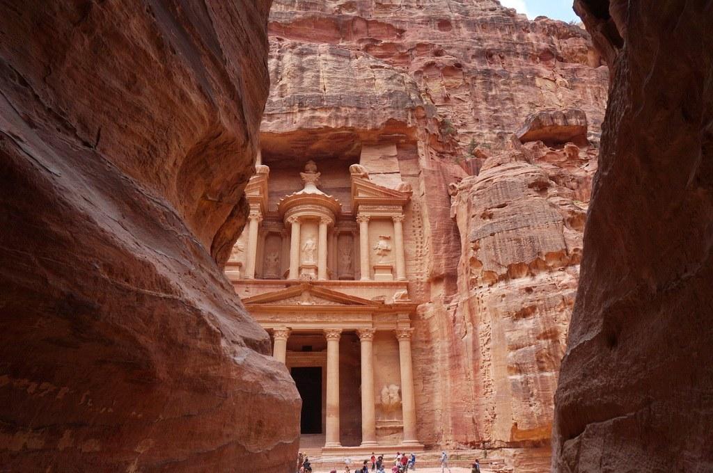Das Mausoleum in Petra auch genannt