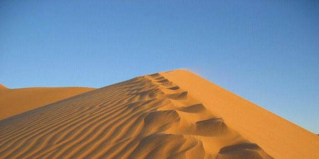 Ein Spaziergang auf den Dünen ist schweißtreibend, aber auch einzigartig.