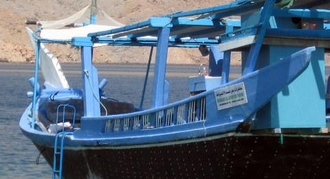 Seit vielen Jahrhunderten werden diese Schiffe in Oman gebaut und auch heute noch benutzt.