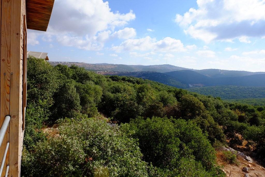 Blick auf das Naturreservat