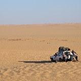 Mit dem Geländewagen durch die nubische Wüste