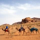 Auf Ihrer Reise sind Sie ein paar Tage auf den Kamelen unterwegs