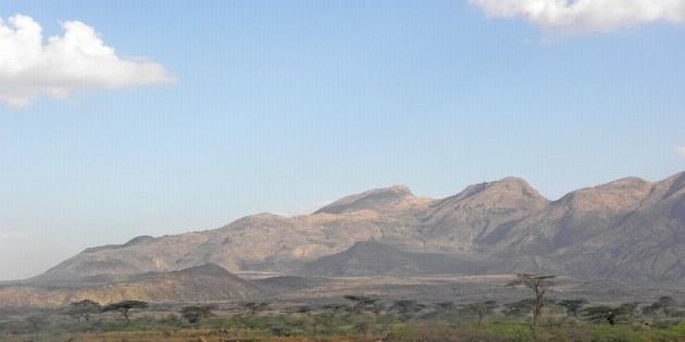 Blick auf die Berge