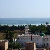 Die Stadt ist noch viel traditioneller und ruhiger als die moderne Hauptstadt Muscat.