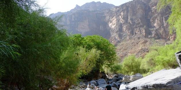Während der Wanderungen gibt es ab und zu die Gelegenheit die Füße in frischem Quelwasser zu kühlen.
