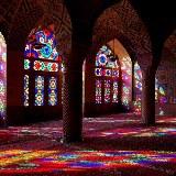 Die prachtvolle Moschee Nazir ol Molk in Shiraz eignet sich im Morgen- oder Abendlicht besonders zum Fotografieren