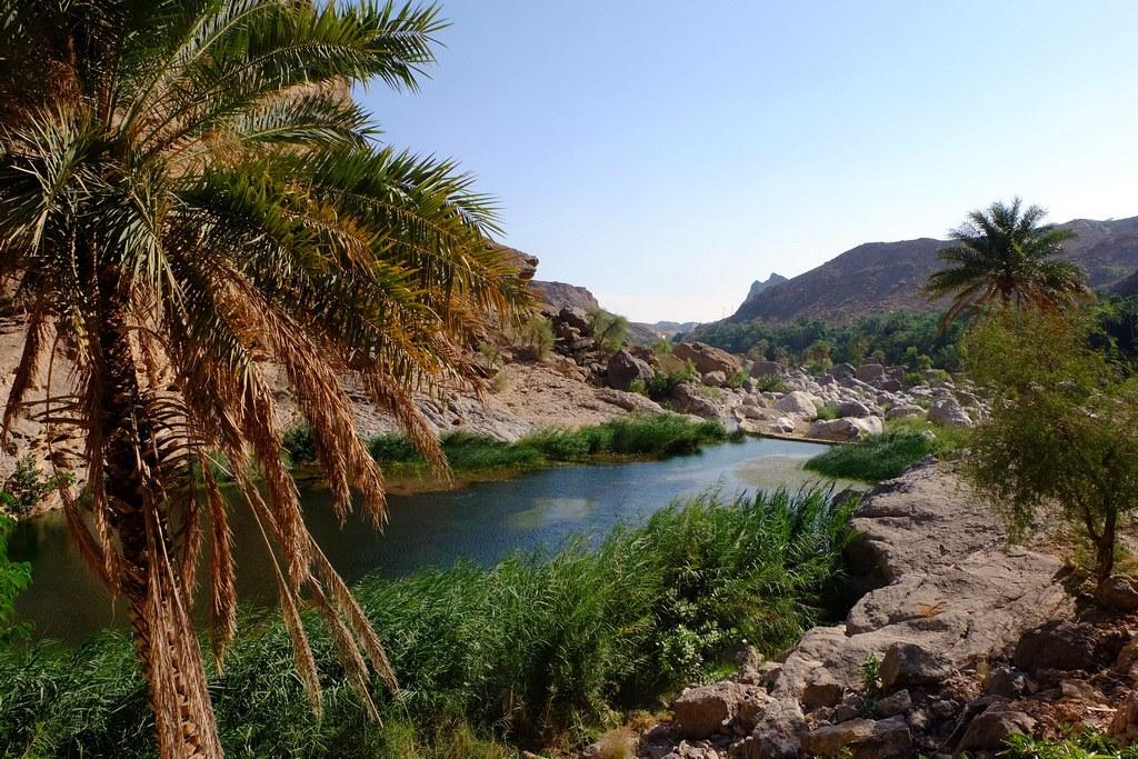 Einige der Wadis werden auch heute  noch zur Wasserversorgung der Felder und Dörfer benutzt.