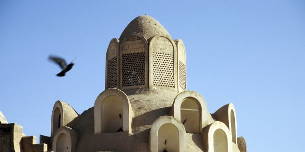 Windturm des Borudjerdi Hauses in Kashan