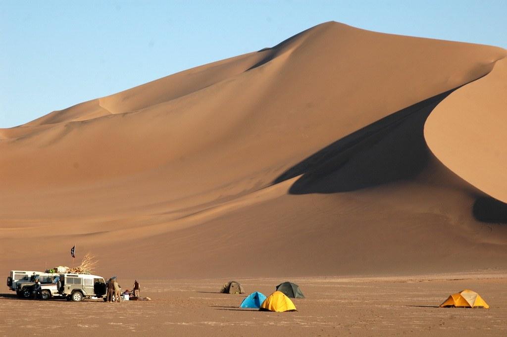 So sieht eine authentische Wüsten-Übernachtung aus