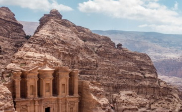 Der Aufstieg zum Kloster wird belohnt