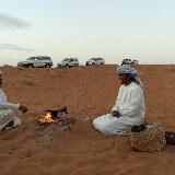 Die Besitzer des Camps freuen sich den Touristen ihre Kultur näher zu bringen.