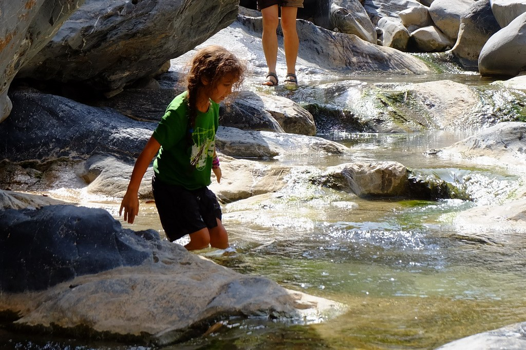 Hier können Sie nach Lust und Laune schwimmen oder durch das Wasser wandern
