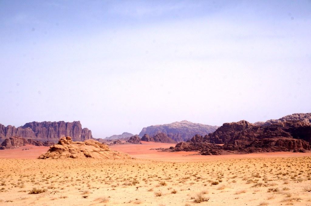 Blick in die Felsenwüste