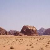 Blick auf die Felsenwüste
