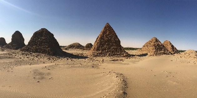 Sudanesische Pyramiden