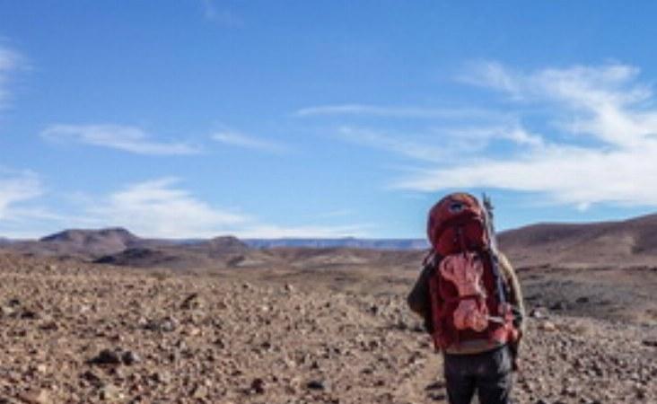 Im Hohen Atlas sind Sie mit leichtem Tagesgepäck unterwegs, Das große Gepäck wird von den Maultieren  transportiert.