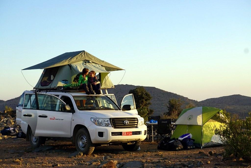 Für Kinder ist das Übernachten in einem Dachzelt ein ganz besonderes Erlebnis!