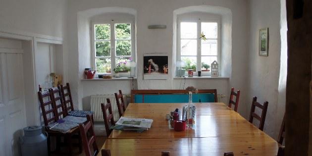 Schönecken Moreno Gästehaus Esszimmer
