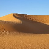 Sanddünen in der nubischen Wüste