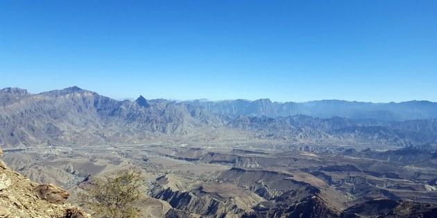 Unterwegs auf dem Jabal Shams und dem Jabal Akhdar