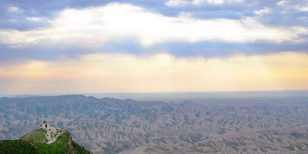Atemberaubender Ausblick auf die Weiten der Wüste