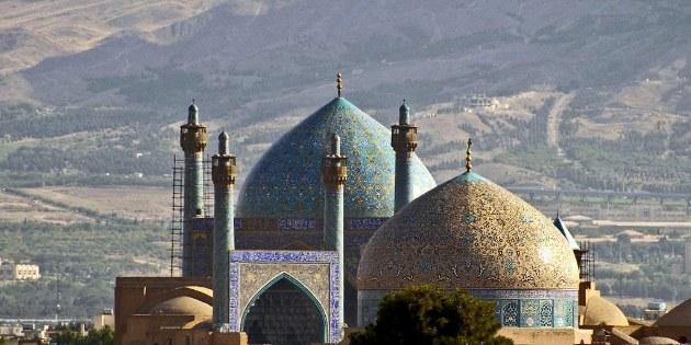 Blick  in Richtung Imam Platz