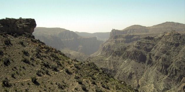Die alten Eselpfade eignen sich hervorragend als Wanderwege durch die Berge.