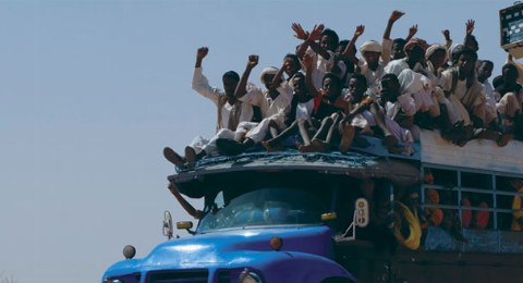 Sudan: Transportmittel in der Wüste bei Naqa