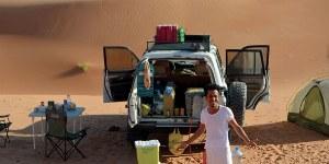 bestens versorgt auch in der Wüste