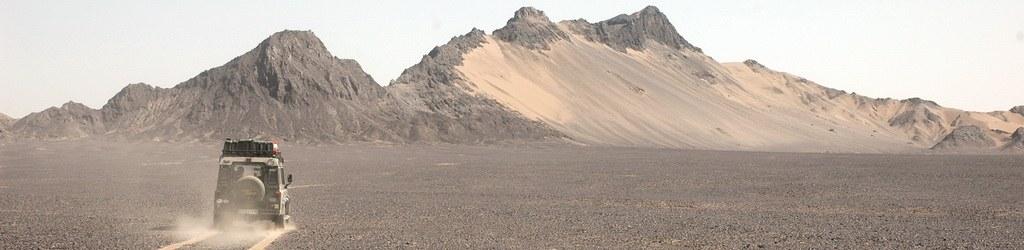 Wüstenlandschaft im Iran
