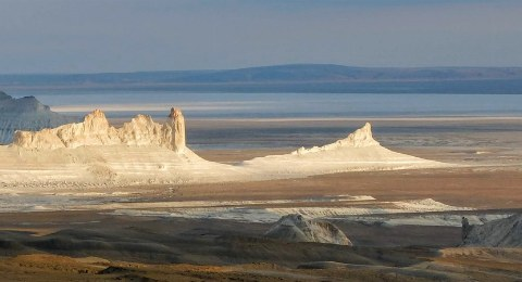 Kasachstan-Reisen: Mangystau Ustyurt-Plateau